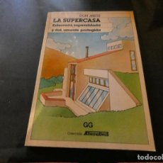 Libros antiguos: DON METZ LA SUPERCASA AÑOS 80 ARQUITECTURA PESA 505 GRAMOS. Lote 169625697