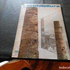 Libros antiguos: REVISTA ITALIANA 1973 ARQUITECTURA ARCHITETTURA PESA 420 GR EN ITALIANO. Lote 169631444