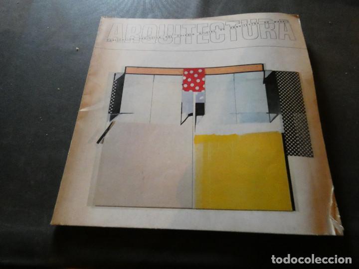 0REVIST ARQUITECTUA DEL COLEGIO OFICIAL DE ARQUITECTOS DE MADRID NUM 227 1979 300 GRAMOS (Libros Antiguos, Raros y Curiosos - Bellas artes, ocio y coleccion - Arquitectura)