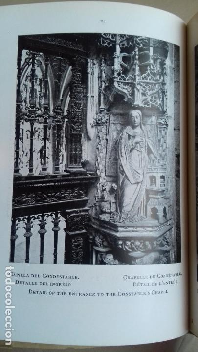 Libros antiguos: EL ARTE EN ESPAÑA. CATEDRAL DE BURGOS. - Foto 5 - 72763367