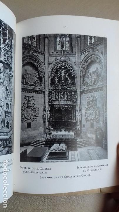 Libros antiguos: EL ARTE EN ESPAÑA. CATEDRAL DE BURGOS. - Foto 6 - 72763367