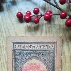 Libros antiguos: CATALUNYA ARTÍSTICA. SANTES CREUS.. Lote 170503740