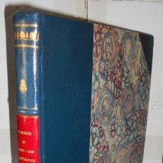 Libros antiguos: UNGEWITTER, G.G. ENTWÜRFE ZU STADT - UND LANDHÄUSERN. [ DISEÑOS DE CASAS DE CIUDAD Y CASAS RURALES ]. Lote 171206247