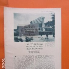 Libros antiguos: AÑO 1929 - TENDENCIAS ARQUITECTURA MODERNA - BERLIN CINE UNIVERSUM ELSASSER PERRET RAMCY KREIS TORRE. Lote 171264454