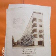 Libros antiguos: AÑO 1929 - TENDENCIAS ARQUITECTURA MODERNA - LA MAQUINA HABITACION BRUNO TAUT LUCKHARDT ANKER NEVET . Lote 171264689