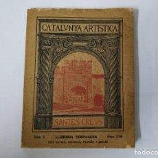 Libros antiguos: CATALUNYA ARTISTICA - SANTES CREUS - NUM.2 - 1929. Lote 171404248
