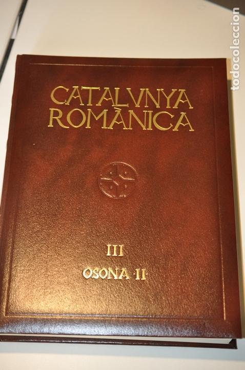 BAS2 - CATALUNYA ROMANICA 3 - ENCICLOPEDIA CATALANA - OSONA II (Libros Antiguos, Raros y Curiosos - Bellas artes, ocio y coleccion - Arquitectura)