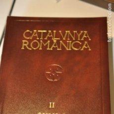 Libros antiguos: BAS2 - CATALUNYA ROMANICA 2 - ENCICLOPEDIA CATALANA - OSONA . Lote 171823283