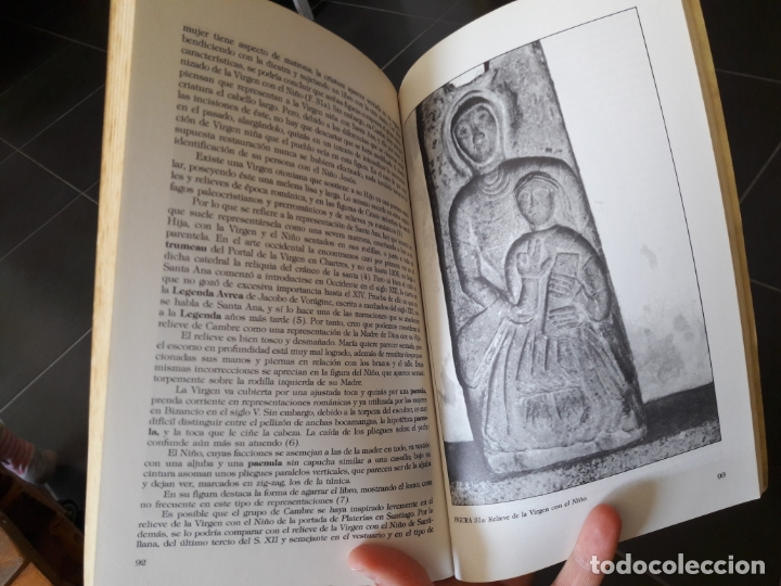 Libros antiguos: La iglesia romanica de Cambre, Margarita Vila de Vila, ed. Ayto. de Cambre, 1986 - Foto 3 - 172154780