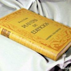 Libros antiguos: COMPOSICIÓN DE PLANTAS DE EDIFICIOS. PERCY L. MARKS. Lote 172220452
