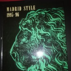 Libros antiguos: MADRID STYLE . Lote 172430513
