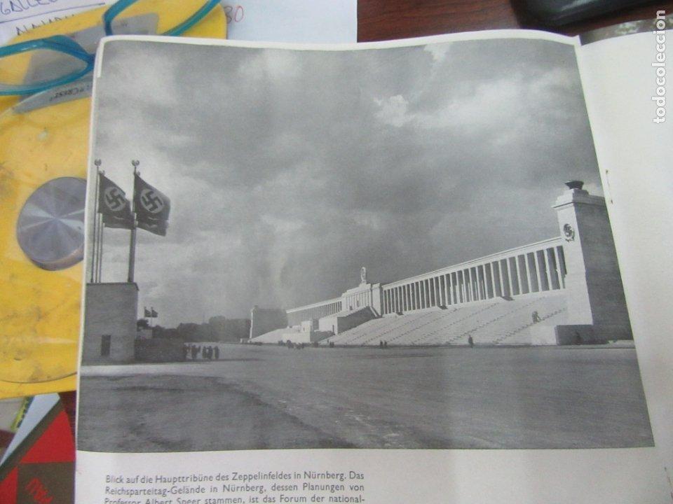 Libros antiguos: Libro en alemán sobre la escultura, arquitectura y pintura nazi. 1933. L4364-463. - Foto 6 - 173393704