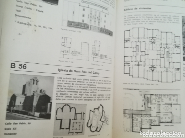 Libros antiguos: Arquitectura de Barcelona VV. AA. Colegio oficial de arquitectos de Cataluña. Tapa dura - Foto 2 - 173425088