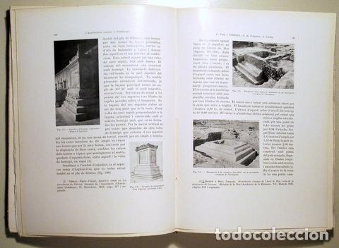 Libros antiguos: PUIG I CADAFALCH, J. - L'ARQUITECTURA ROMANA A CATALUNYA - Barcelona 1934 - Il·lustrat - Foto 3 - 173629232