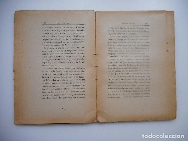 Libros antiguos: L. CABELLO Y ASO Teoría artística de la arquitectura(Libro II) Estética peculiar Y95661 - Foto 2 - 174149929