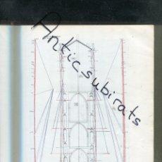 Libros antiguos: LIBRO AÑO 1926 RESTAURACION DE LAS TORRES DE TERUEL ARQUITECTO JAIME TORRES GRAU LLAMOLLA DURAN . Lote 175553962