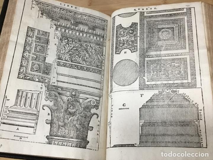 Libros antiguos: I QUATTRO LIBRI DELL`ARCHITETTURA DI ANDREA PALLADIO.IN VENETIA. APPREFFO BARTOLOMEO CARAMPELLO.1601 - Foto 7 - 176142440