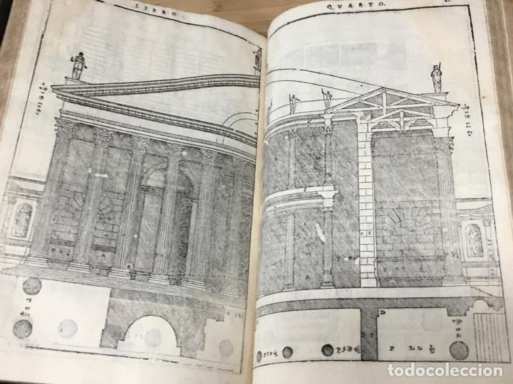 Libros antiguos: I QUATTRO LIBRI DELL`ARCHITETTURA DI ANDREA PALLADIO.IN VENETIA. APPREFFO BARTOLOMEO CARAMPELLO.1601 - Foto 8 - 176142440