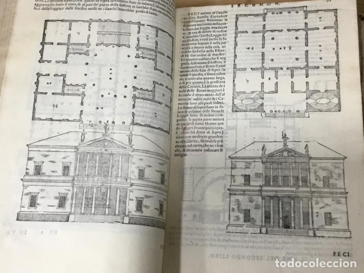 Libros antiguos: I QUATTRO LIBRI DELL`ARCHITETTURA DI ANDREA PALLADIO.IN VENETIA. APPREFFO BARTOLOMEO CARAMPELLO.1601 - Foto 10 - 176142440