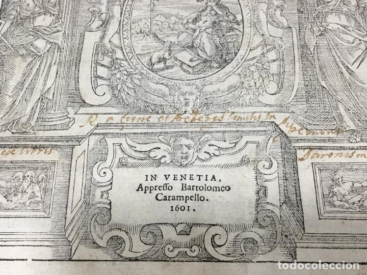 Libros antiguos: I QUATTRO LIBRI DELL`ARCHITETTURA DI ANDREA PALLADIO.IN VENETIA. APPREFFO BARTOLOMEO CARAMPELLO.1601 - Foto 11 - 176142440