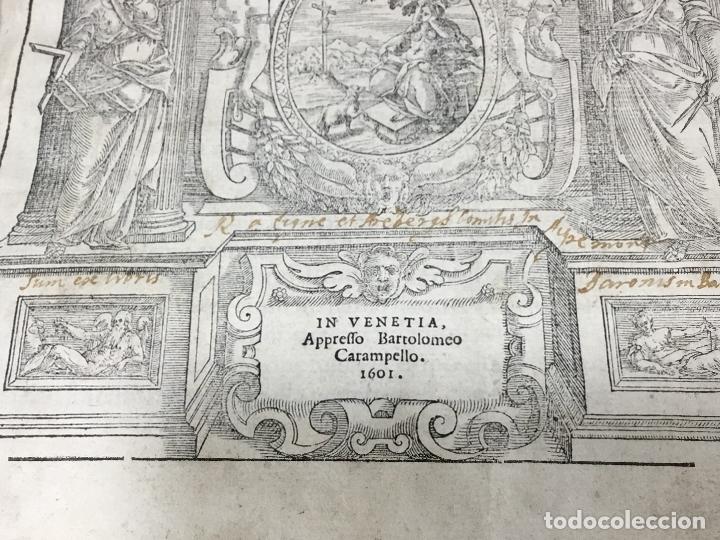 Libros antiguos: I QUATTRO LIBRI DELL`ARCHITETTURA DI ANDREA PALLADIO.IN VENETIA. APPREFFO BARTOLOMEO CARAMPELLO.1601 - Foto 13 - 176142440
