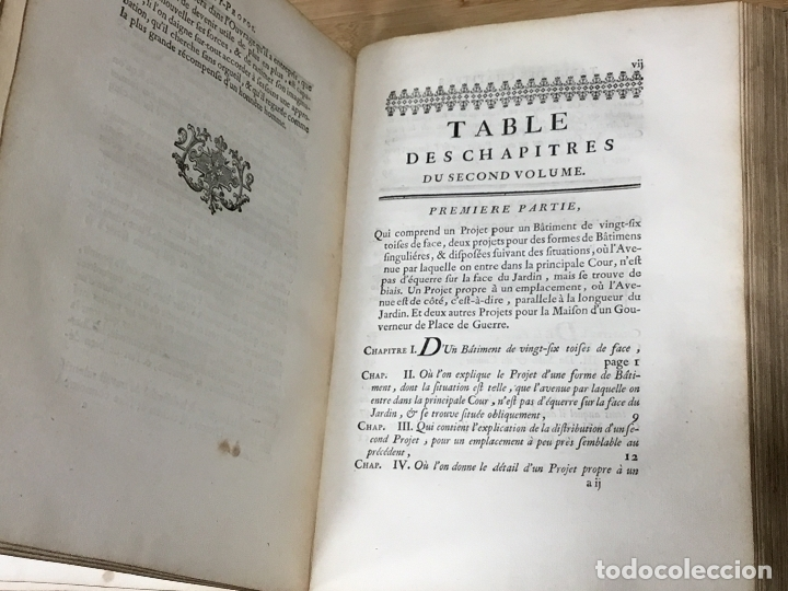 Libros antiguos: L´ART DE BÂTIR DES MAISONS DE CAMPAGNE.SIEUR C.E. BRISEUX, ARCHITECTE. TOME PREMIER. PARIS.1743 - Foto 3 - 176142767