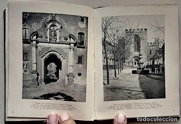 Libros antiguos: CATALUNYA ARTÍSTICA. MONESTIR DE SANTES CREUS .EDICIÓ LUXE NUMERADA18 de 50. ANY 1929 - Foto 6 - 176508164