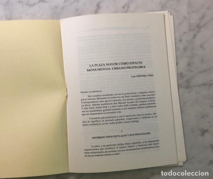 Libros antiguos: LA PLAZA MAYOR COMO ESPACIO URBANO PROTEGIBLE-LCV(13€) - Foto 2 - 177672000