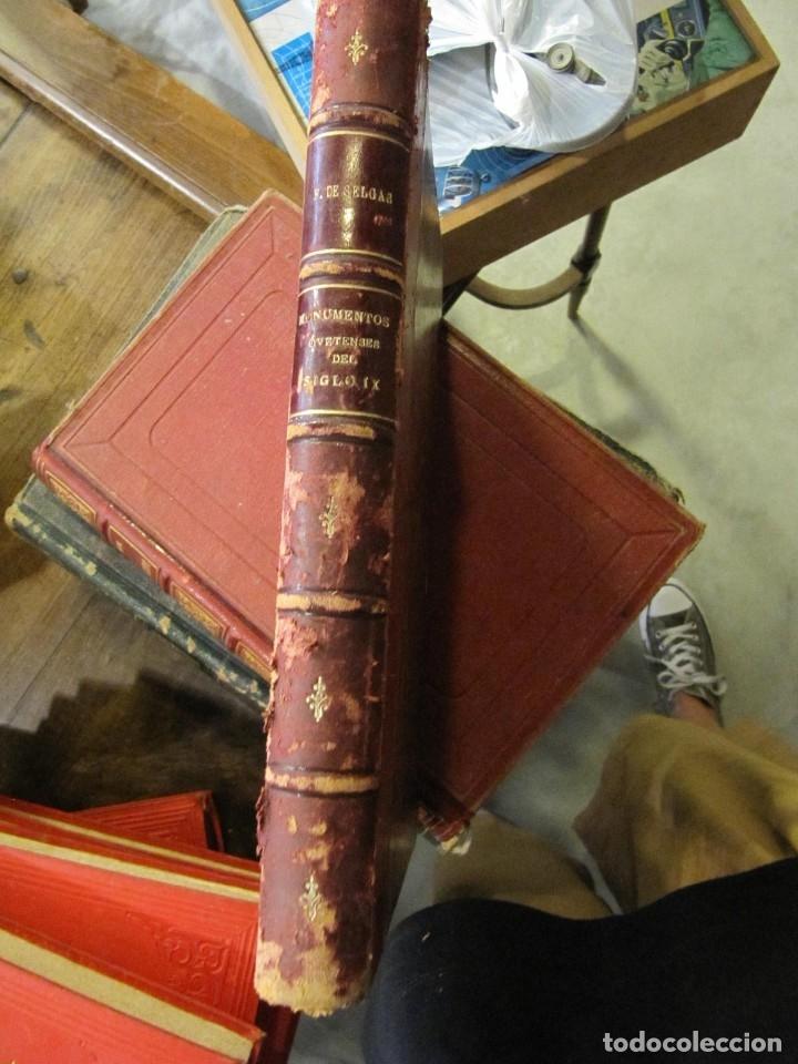 Libros antiguos: MONUMENTOS OVETENSES DEL SIGLO IX POR FORTUNATO DE SELGAS 1.908 - CON DEDICATORIA DEL AUTOR Y FIRMA - Foto 2 - 178217647