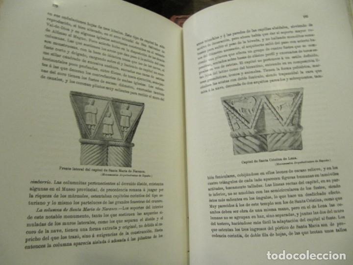 Libros antiguos: MONUMENTOS OVETENSES DEL SIGLO IX POR FORTUNATO DE SELGAS 1.908 - CON DEDICATORIA DEL AUTOR Y FIRMA - Foto 6 - 178217647