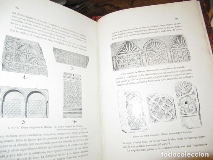 Libros antiguos: MONUMENTOS OVETENSES DEL SIGLO IX POR FORTUNATO DE SELGAS 1.908 - CON DEDICATORIA DEL AUTOR Y FIRMA - Foto 7 - 178217647