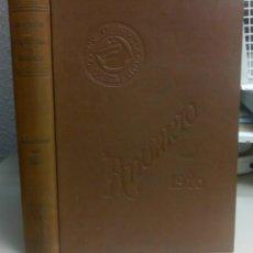 Libros antiguos: ASOCIACION DE ARQUITECTOS DE CATALUÑA, ANUARIO PARA 1920, L11850. Lote 178715807