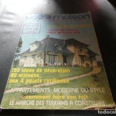 Libros antiguos: VOTRE MAISON REVISTA FRANCESA NUMERO 157. Lote 178844963