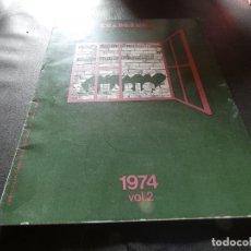 Libros antiguos: CUADERNOS ARQUITCTURA Y DECORACION 1974 VOLUMEN 2 . Lote 178846000