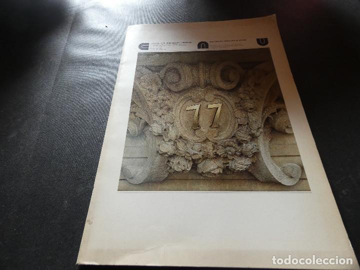 REVISTA CAU CONSTRUCCION ARQUITECTURA URGANISMO NUMERO 77 PESA 400 GRAMOS (Libros Antiguos, Raros y Curiosos - Bellas artes, ocio y coleccion - Arquitectura)