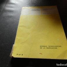 Libros antiguos: LIBRO DEL AÑO 1973 APROX NORMAS TECNOLOGICAS DE LA EDIFICIACION CEDESCO PESA UNOS 300 GR. Lote 178846296