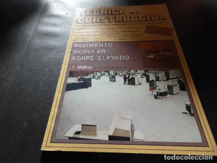 REVISTA TECNICA DE LA CONSTRUCCION DICIEMBRE 1982 (Libros Antiguos, Raros y Curiosos - Bellas artes, ocio y coleccion - Arquitectura)