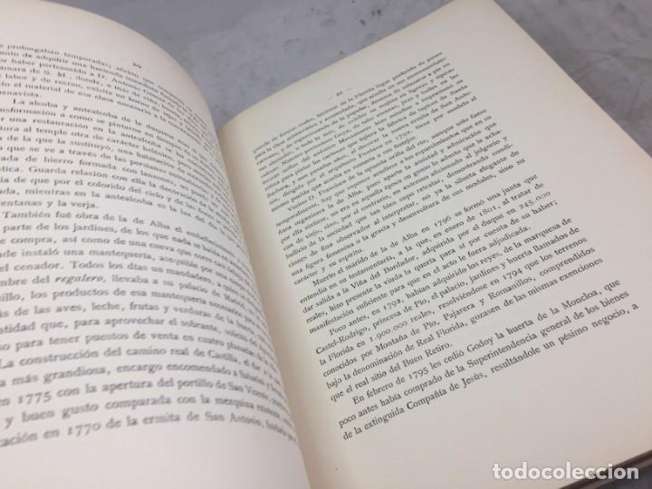 Libros antiguos: EL PALACETE DE LA MONCLOA 1929 Su pasado y su presente JOAQUIN EZQUERRA DEL BAYO - Foto 4 - 271383003