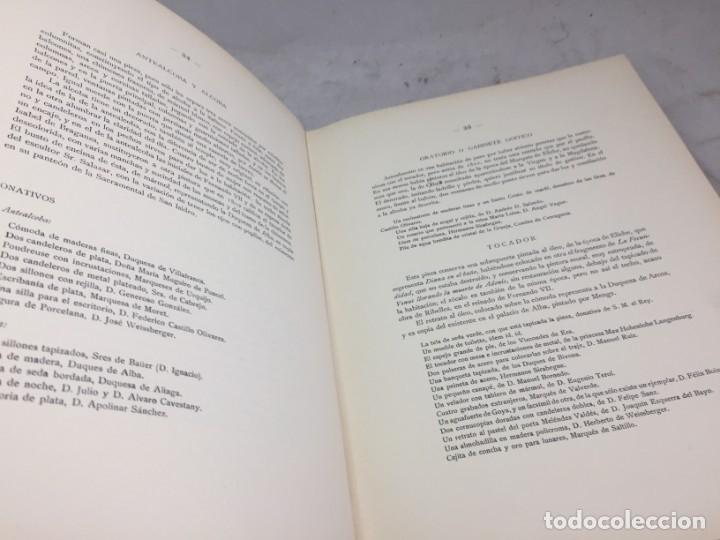 Libros antiguos: EL PALACETE DE LA MONCLOA 1929 Su pasado y su presente JOAQUIN EZQUERRA DEL BAYO - Foto 7 - 271383003