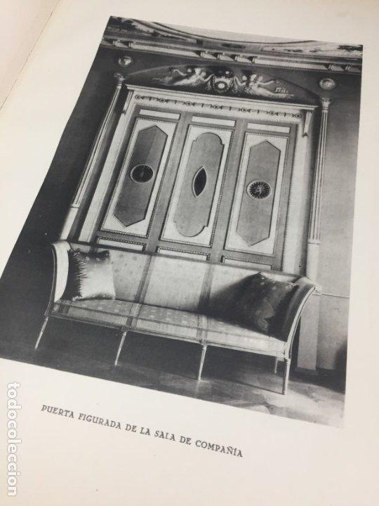 Libros antiguos: EL PALACETE DE LA MONCLOA 1929 Su pasado y su presente JOAQUIN EZQUERRA DEL BAYO - Foto 11 - 271383003