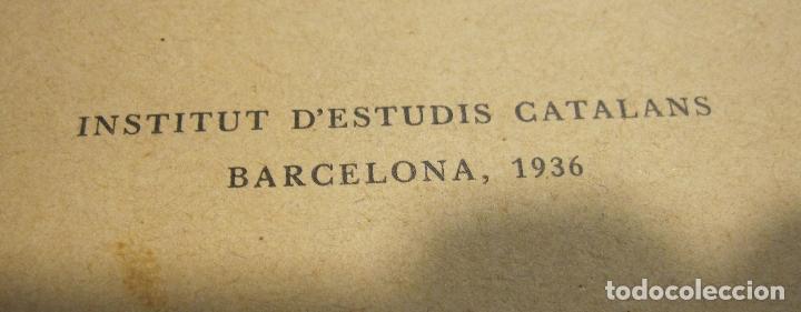Libros antiguos: PUIG I CADAFALCH. LA SEU VISIGOTICA DEGARA, INSTITUT DESTUDIS CATALANS.BARCELONA, 1936 - Foto 2 - 179089945