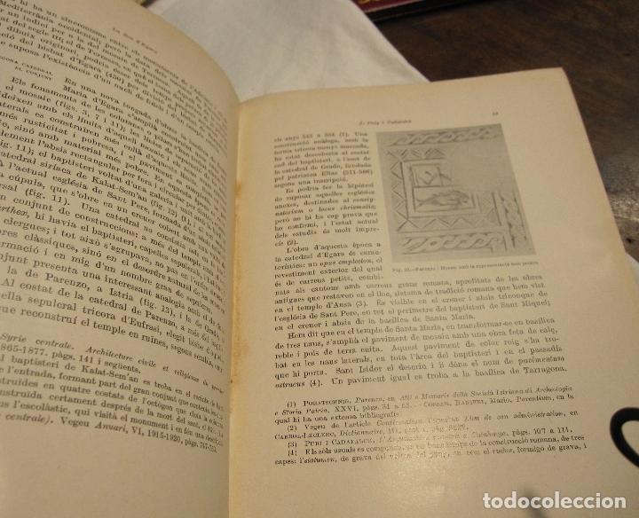 Libros antiguos: PUIG I CADAFALCH. LA SEU VISIGOTICA DEGARA, INSTITUT DESTUDIS CATALANS.BARCELONA, 1936 - Foto 3 - 179089945