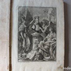 Libros antiguos: IL VIGNOLA ILLUSTRATO, DEDICATO ALLA SANTITÀ CLEMENTE XIV, 1770. Lote 179102351