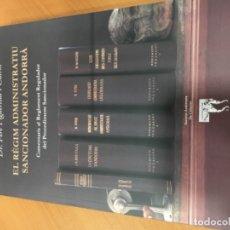 Libros antiguos: EL RÈGIM ADMINISTRATIU SANCIONADOR ANDORRÀ DE PERE FIGUEREDA CAIROL. Lote 179135827