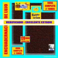 Libros antiguos: LAS PIEDRAS DE VENECIA JOHN RUSKIN - 2 TOMOS - SEMPERE - C. 1911 - ARQUITECTURA VENECIANA - 120 €. Lote 180044395