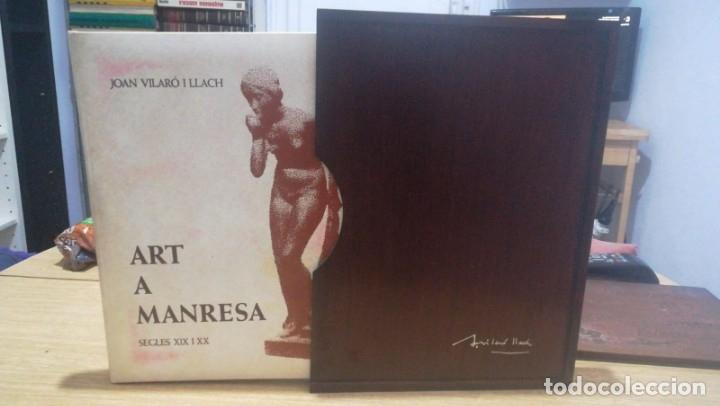 Libros antiguos: Art a Manresa Segles XIX i XX - Foto 2 - 181349045