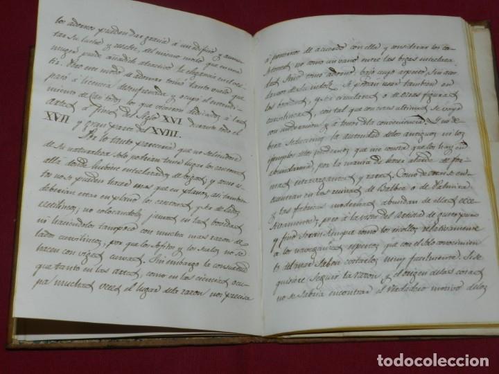 Libros antiguos: (M3.6) LIBRO MANUSCRITO S.XIX - MATIAS SAVINA - DESCRIPCION DE VARIAS FORMAS DE CASETONES ARQUITECTO - Foto 3 - 181492122