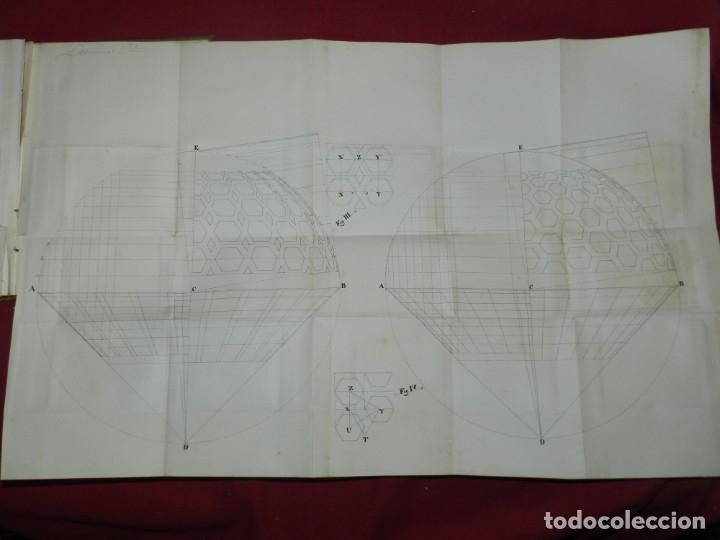 Libros antiguos: (M3.6) LIBRO MANUSCRITO S.XIX - MATIAS SAVINA - DESCRIPCION DE VARIAS FORMAS DE CASETONES ARQUITECTO - Foto 6 - 181492122