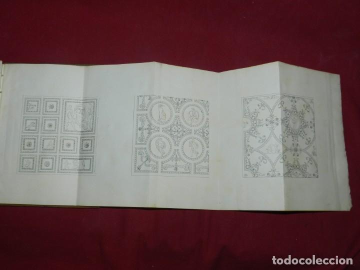 Libros antiguos: (M3.6) LIBRO MANUSCRITO S.XIX - MATIAS SAVINA - DESCRIPCION DE VARIAS FORMAS DE CASETONES ARQUITECTO - Foto 8 - 181492122