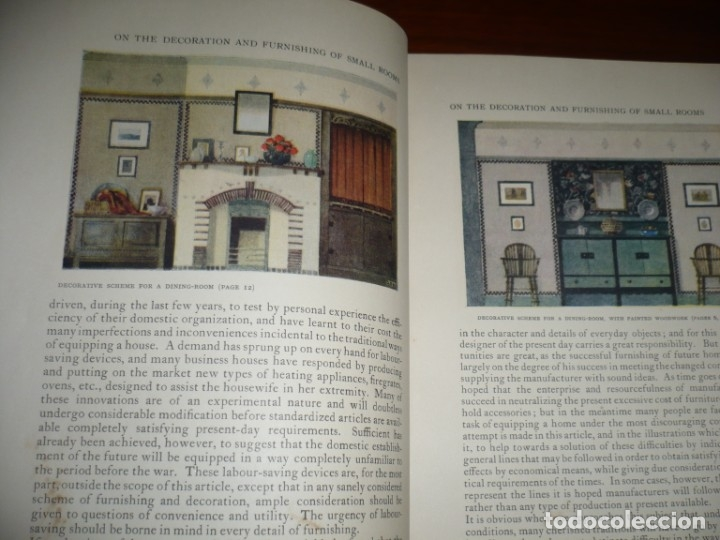 Libros antiguos: THE STUDIO YEAR -BOOK OF DECORATIVE ART 1920 LONDON ,PARIS ,NEW YORK - Foto 4 - 181626245